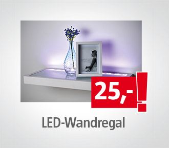 LED-Wandregal