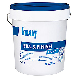 Knauf Spachtelmasse Fill & Finish Light (20 kg)