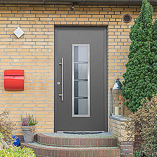 Haustür Thermodoor SP40EA RC2 (110 x 210 cm, DIN Anschlag: Links, Edel-Anthrazit)