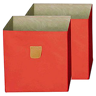 Phönix Aufbewahrungsbox Stor It (L x B x H: 34 x 34 x 34 cm, Polyester-Canvas, Orange)
