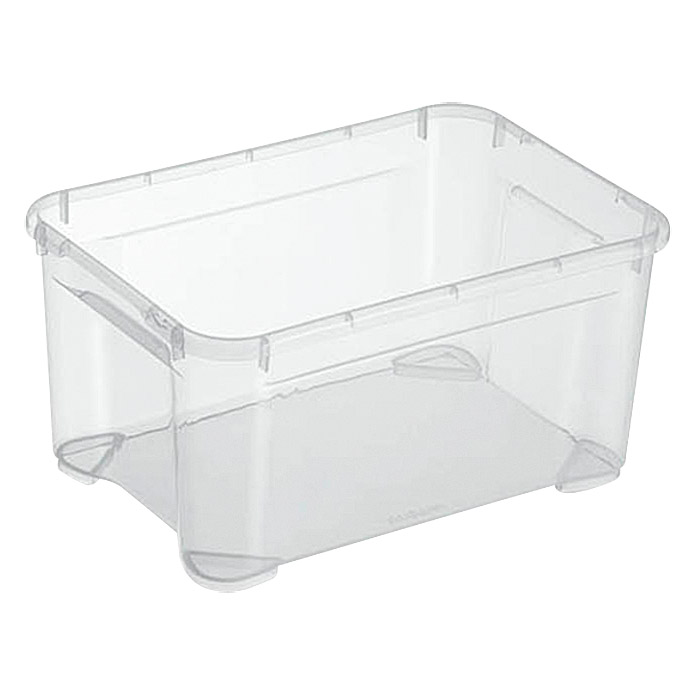 Regalux Clear Box XS (L x B x H: 37,6 x 26 x 18,9 cm, 13,5 l, Transparent)