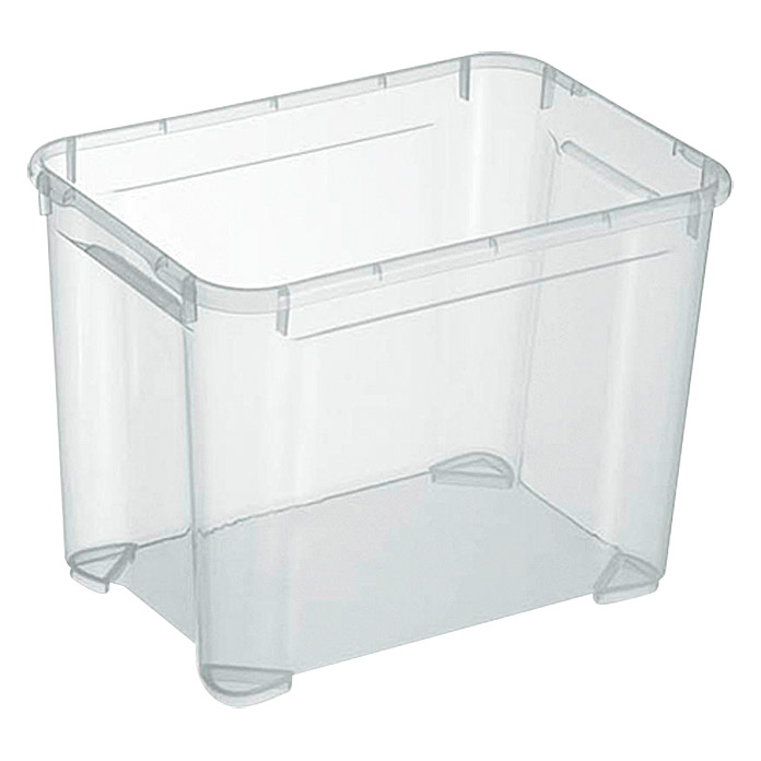 Regalux Clear Box S (L x B x H: 37,6 x 26 x 28,3 cm, 20 l, Transparent)