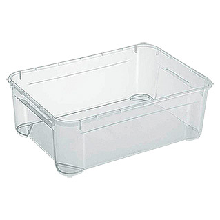 Regalux Clear Box (L x An x Al: 54,8 x 38,4 x 18,9 cm, 31 l, Transparente)