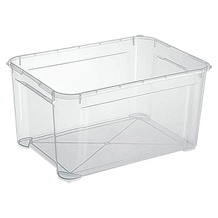 Regalux Clear Box L (L x B x H: 54,8 x 38,4 x 28,3 cm, 47 l, Transparent)