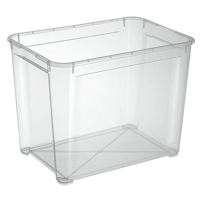 Regalux Clear Box XL (L x An x Al: 54,8 x 38,4 x 42,2 cm, 70 l, Transparente)