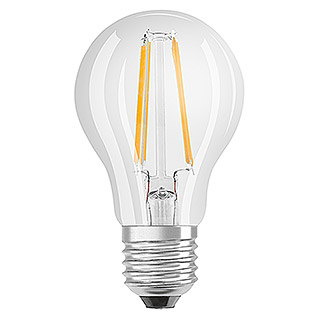 Osram Star LED-Leuchtmittel Classic A 60 (3 Stk., 7 W, E27, Warmweiß, Klar)