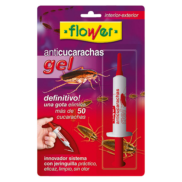 Flower Producto anti-insectos anticucarachas (10 g)