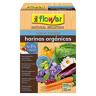 Flower Abono natural harinas orgánicas (800 g)