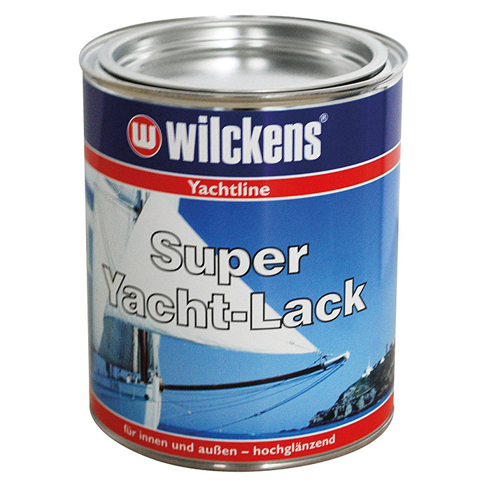 Wilckens Super Yachtlack (Saphirblau, 125 ml)