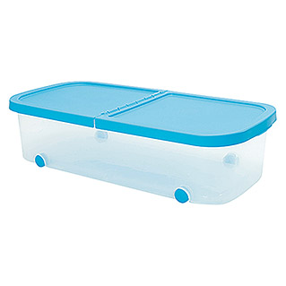 Plastiken Fresh Multibox (L x An x Al: 79 x 39 x 20 cm, Plástico, Color de tapa: Azul)