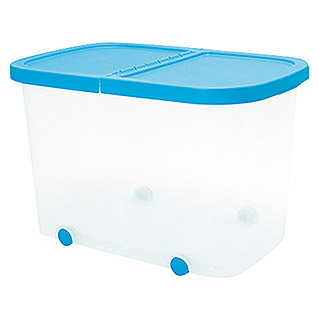 Plastiken Fresh Multibox (L x An x Al: 59 x 39 x 39 cm, Plástico, Color de tapa: Azul)