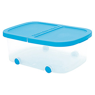 Plastiken Fresh Multibox (L x An x Al: 50 x 36 x 19 cm, Plástico, Color de tapa: Azul)