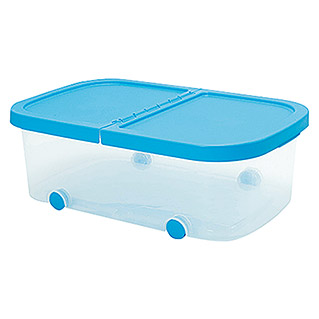 Plastiken Fresh Multibox (L x An x Al: 59 x 39 x 20 cm, Plástico, Color de tapa: Azul)