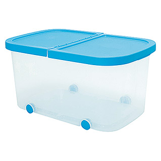 Plastiken Fresh Multibox (L x An x Al: 59 x 39 x 30 cm, Plástico, Color de tapa: Azul)