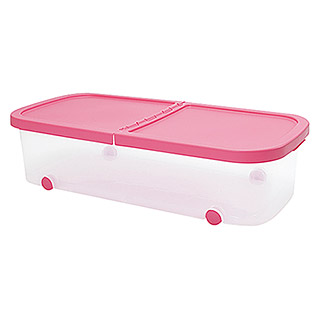 Plastiken Fresh Multibox (L x An x Al: 79 x 39 x 20 cm, Plástico, Color de tapa: Rosa)