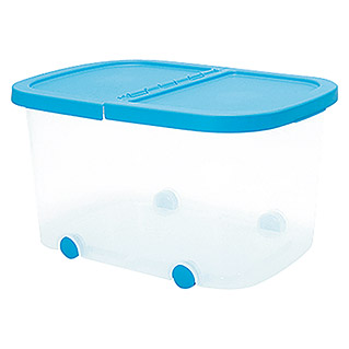 Plastiken Fresh Multibox (L x An x Al: 50 x 36 x 28 cm, Plástico, Color de tapa: Azul)