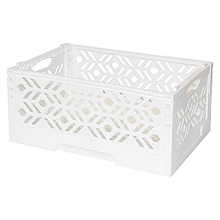 Caja plegable Mini Blanco (L x An x Al: 23,8 x 16,1 x 10 cm)