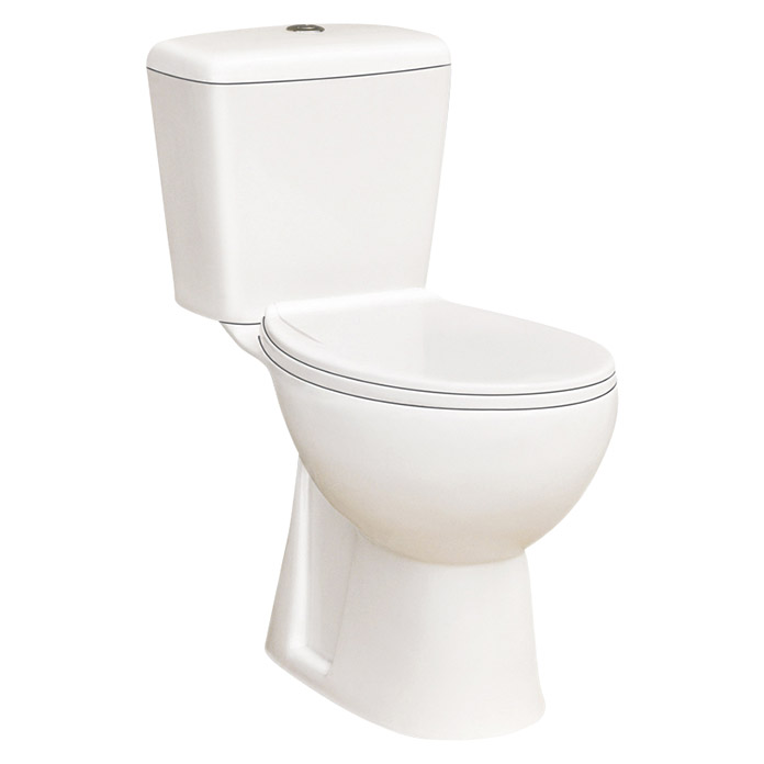 Pack de WC Bahia (Salida WC: Vertical, Blanco)