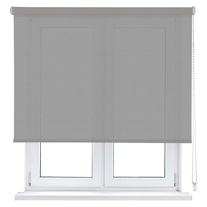 Viewtex Estor enrollable Screen 10% (An x Al: 165 x 250 cm, Blanco gris, Traslúcido)