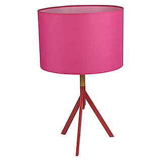 Tween Light Lámpara de sobremesa redonda (60 W, Color: Rosa, Ø x Al: 30 x 49 cm)