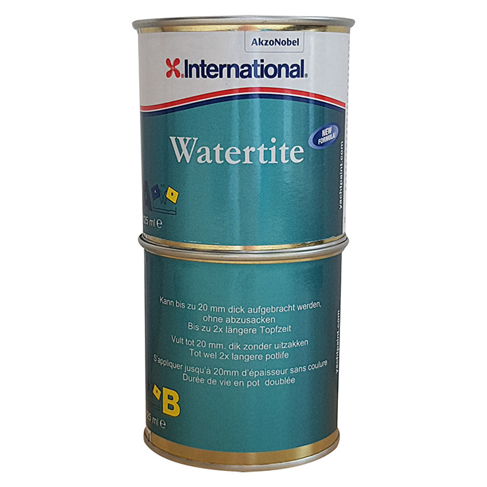 International Spachtel Watertite (Grau, 250 ml)