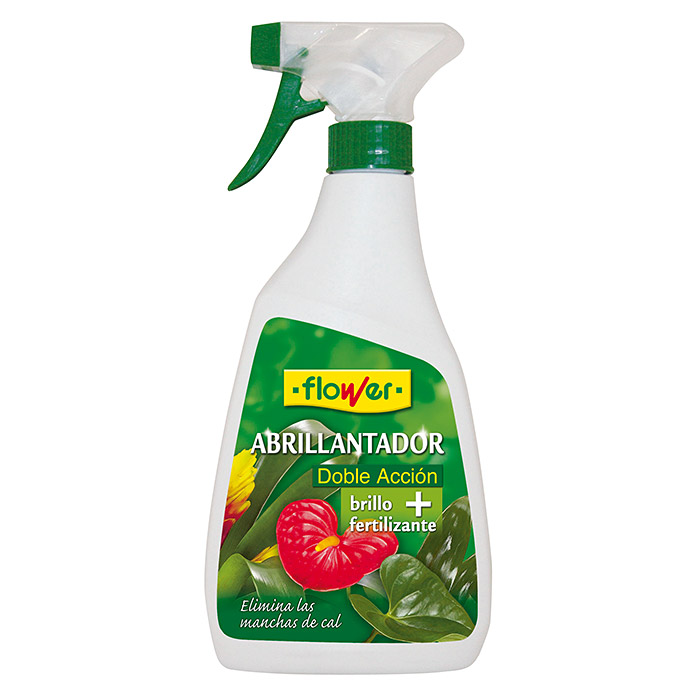 Flower Abrillantador foliar doble acción (500 ml)