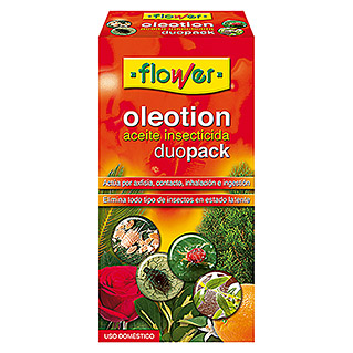 Flower Insecticida aceite oleotion duo pack (300 ml)