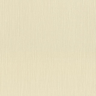 Barbara Home Collection Vliestapete (Creme, Uni, 10,05 x 0,53 m)