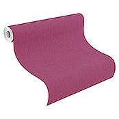 Barbara Home Collection Vliestapete (Pink, Uni, 10,05 x 0,53 m)