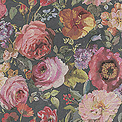 Barbara Home Collection Vliestapete Floral I (Bunt, Floral, 10,05 x 0,53 m)