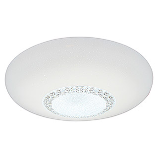 Tween Light Plafón LED Mara (60 W, Color: Blanco/Claro, Ø x Al: 60 x 10,5 cm)