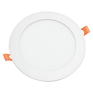Alverlamp Juego de LED Downlight (18 W, Blanco, L x An x Al: 22 x 22 x 2,5 cm)