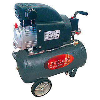 Unicair Compresor CD-2/24L (8 bar, Capacidad de la caldera: 24 l)