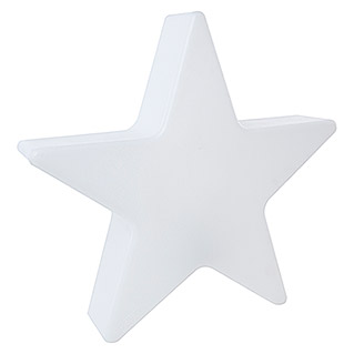 8 Seasons Design Shining Leuchtstern Star Mini (9 W, Weiß)