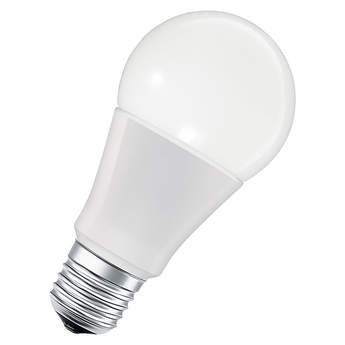 Osram Smart+ Bluetooth LED-Leuchtmittel Apple Homekit Multicolor (10 W, E27, Einstellbare Farbtemperatur, RGBW, Dimmbar)