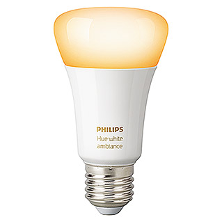 Philips Hue Bombilla LED Ambiance (9,5 W, E27, Temperatura de color ajustable, 1 ud.)