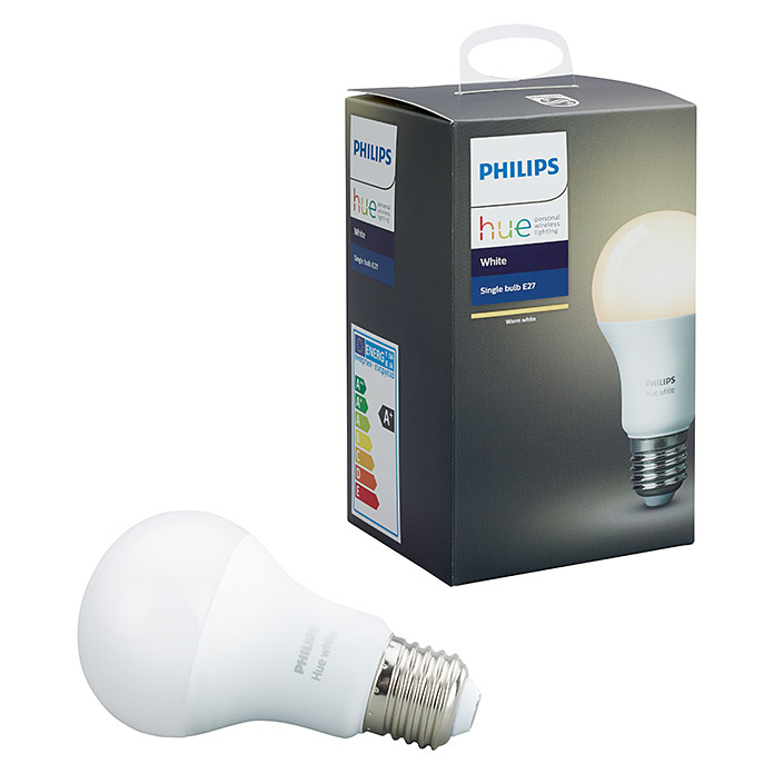 Philips Hue Led Leuchtmittel 9 5 W E27 Warmweiss Dimmbar 1 Stk