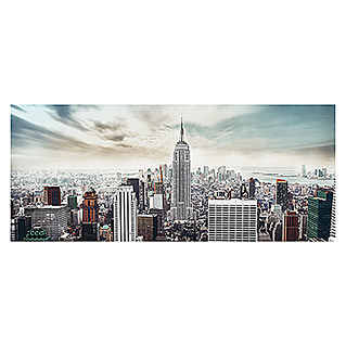 Glasbild (Manhattan, 125 x 50 cm)
