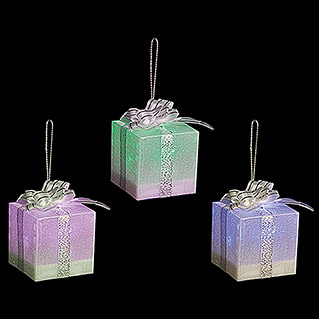 Guirnalda decorativa LED Caja de regalo (Multicolor, 5 cm)
