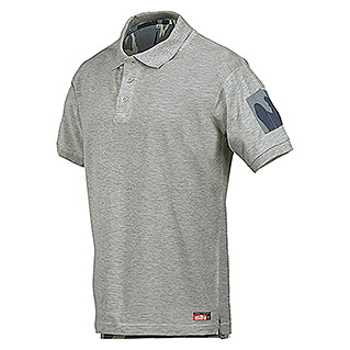 Industrial Starter Polo Camu (L, Gris)