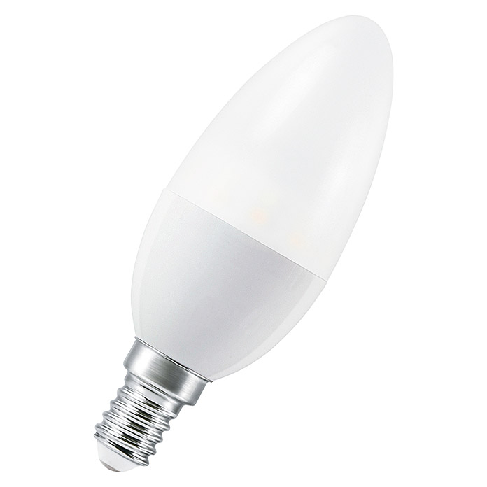 Osram Smart+ ZigBee LED-Leuchtmittel Candle Tunable White (6 W, E14, Einstellbare Farbtemperatur, Dimmbar)