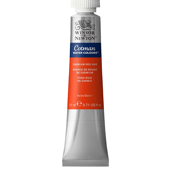 Winsor & Newton Cotman Aquarellfarbe (Kadmiumrot hell, 21 ml, Tube) -