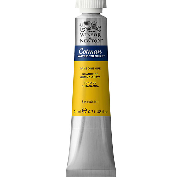 Winsor & Newton Cotman Aquarellfarbe (Gamboge, 21 ml, Tube) -