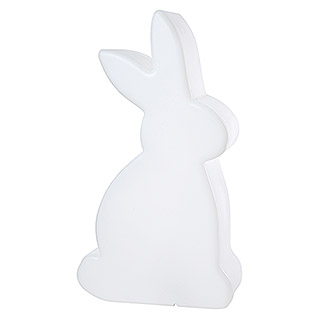 8 Seasons Design Shining LED-Solar-Dekoleuchte Rabbit (Weiß, L x B x H: 11 x 29 x 50 cm)