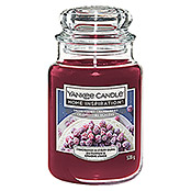 Yankee Candle Home Inspirations Duftkerze Classic (Im Glas, Snow Kissed Cranberry, Large)