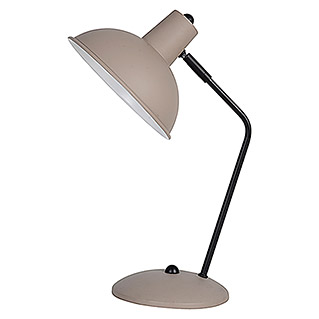 Tween Light Lámpara de sobremesa Kreto (60 W, Color: Taupe, L x An x Al: 24,5 x 19 x 37,5 cm)