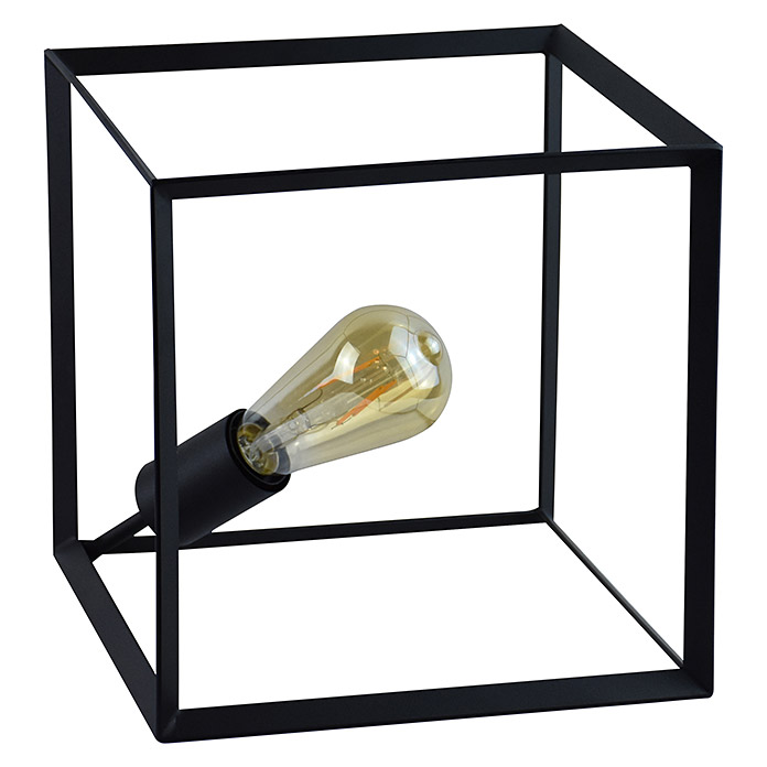 Tween Light Lámpara de sobremesa (40 W, Color: Negro, L x An x Al: 25 x 25 x 25 cm)