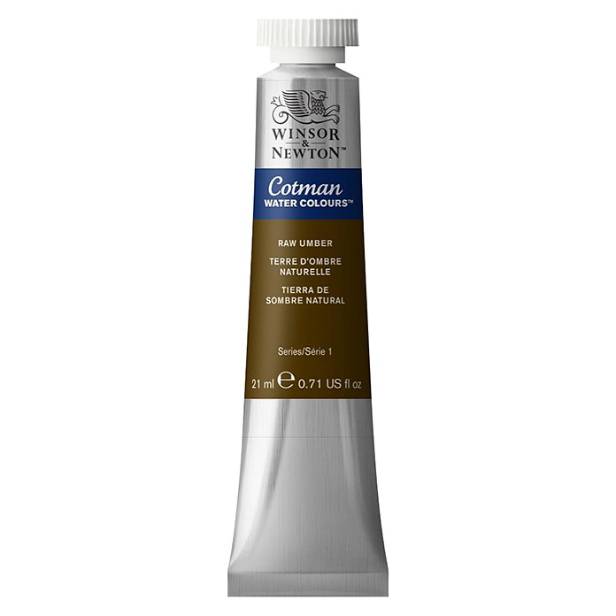 Winsor & Newton Cotman Aquarellfarbe (Umbra Natur, 21 ml, Tube) -