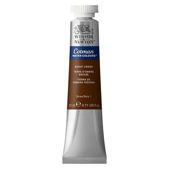 Winsor & Newton Cotman Aquarellfarbe (Umbra gebrannt, 21 ml, Tube) -