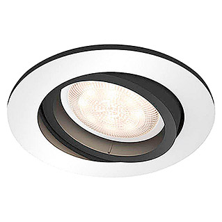 Philips Hue Foco LED empotrable Milliskin (5,5 W, Color de luz: Blanco neutro)